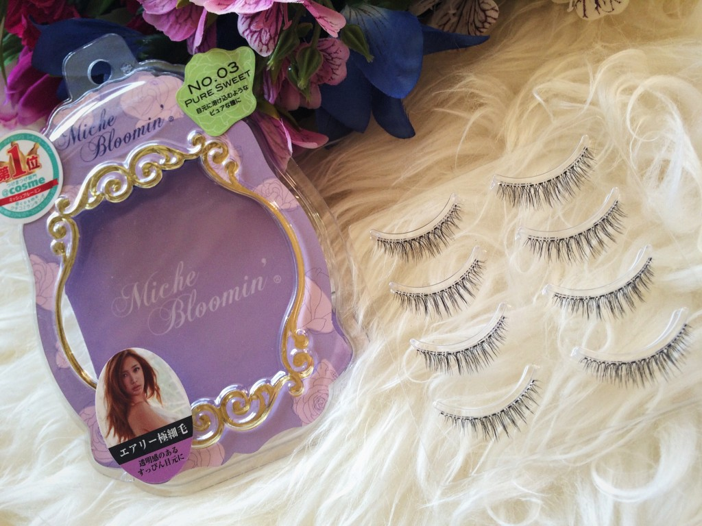 ffc4c1b7d8c I'm not one to wear false lashes on daily basis but when I do, I like to  use Miche Bloomin eyelashes. These eyelashes were ranked No1 in 2014 on  @cosme, ...